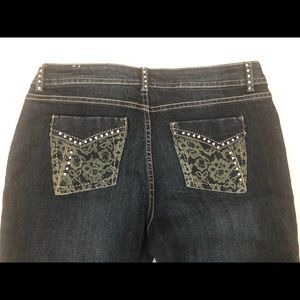 Womens Brand NEW Suko Jeans with Embellishments